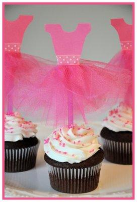 ballet cupcakes partiesandholidays blog